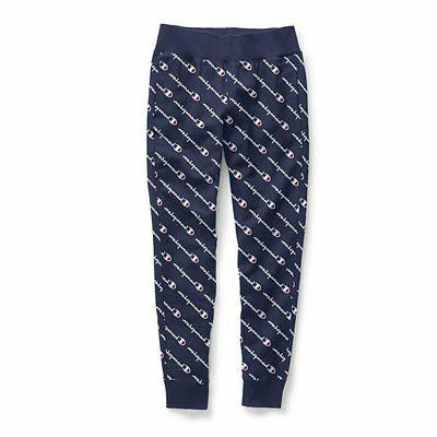 women s printed reverse weave jogger