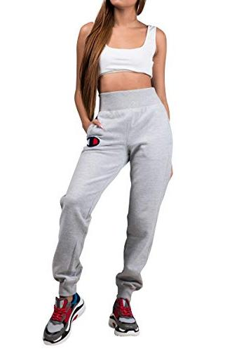 women s reverse weave jogger oxford grey