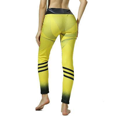 Women's Sports Printed Yoga Leggings Running Clothe Sweatpants