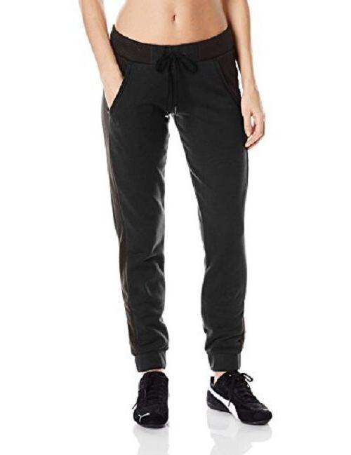 women s sweat pants black size x