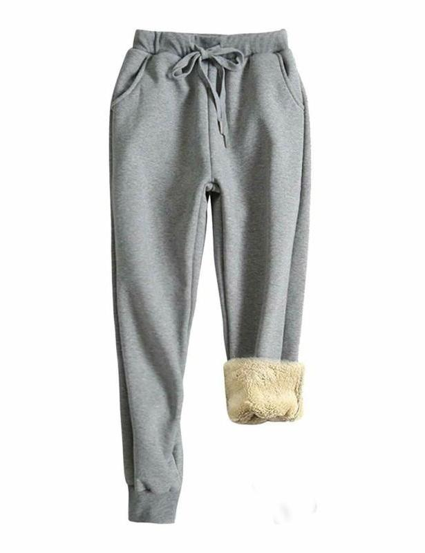 coupon codes elegant shape hot-selling latest Yeokou Women'S Warm Sherpa Lined Athletic Sweatpants Jogger Fleece Pants