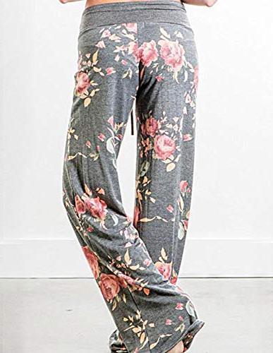 Buauty Womens Cotton Pajama Sweatpants S-3XL