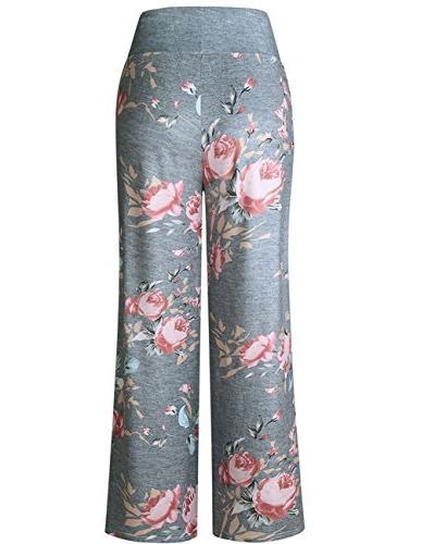 Buauty Pants Summer Pajama Yoga Palazzo Sweatpants S-3XL