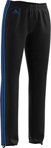 adidas Womens Designed 2 Move Straight Pants, Black/Blue, La