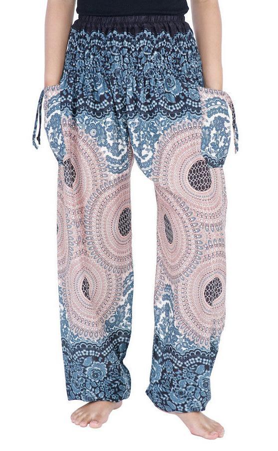 Womens Harem Pants Waist Sweatpants Yoga Trousers Rayon Clothing