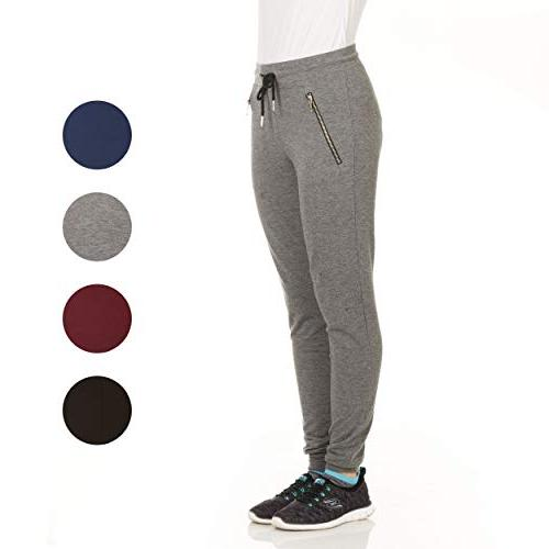 X Terry Sweatpants with Zipper Plus