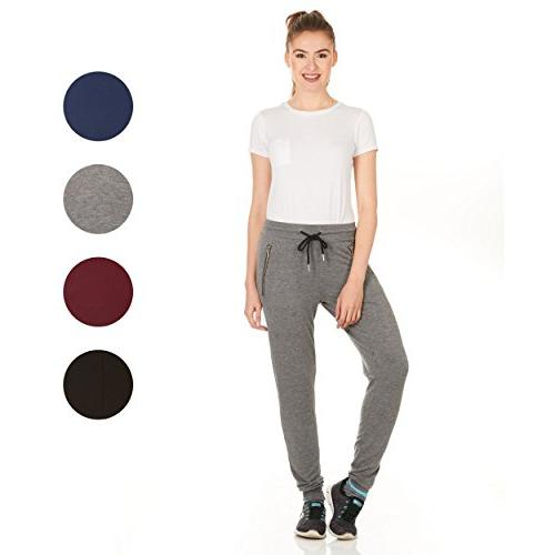 X Soft Terry Jogger Sweatpants with Zipper Plus