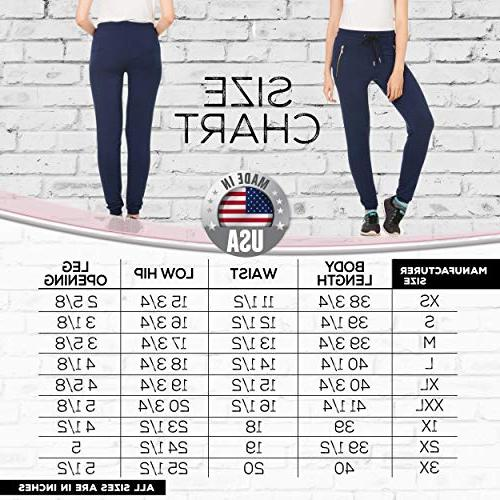 X America Terry Sweatpants with Zipper Plus