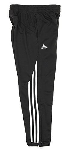 adidas Youth Big Boys Climalite Field Pant, Black, Large