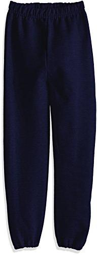 Jerzees Youth Fleece Sweatpant, J Navy, Medium