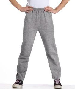 Gildan Youth Heavy Blend Smooth Sweatpant, Sport Grey, Large