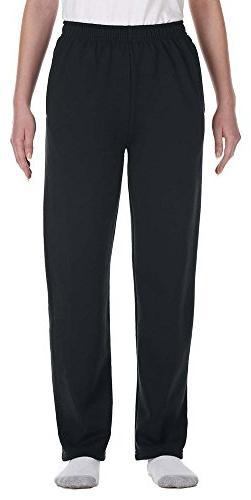 Jerzees Youth 8 oz., 50/50 NuBlend Open-Bottom Sweatpants -