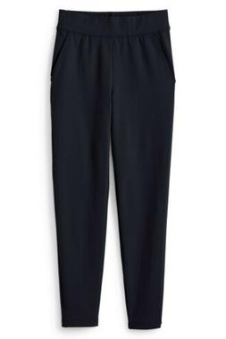 LANDS END Black Starfish Elastic Waist Sweatpants Pants Wome