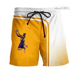 LBG New in 2019, Kobe Bryant shorts 3D printed <font><b>swea