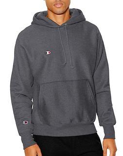 Champion Life3; Men's Reverse Weave Pullover Hoodie Granite