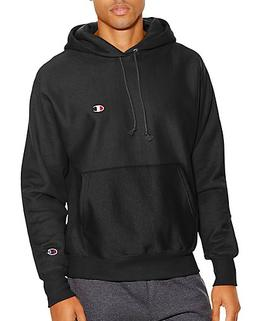 Champion Life3; Men's Reverse Weave Pullover Hoodie Black XX