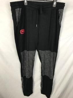 Ecko Unltd Lounge Sweat Pants Womens 2X NWOT Black Animal Pr