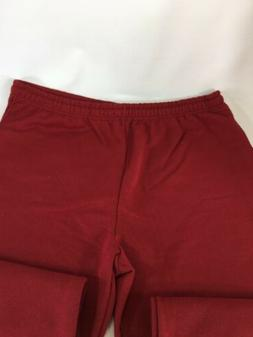 Fruit Of The Loom Maroon Sweatpants 50 50 XL New NOS Hondura