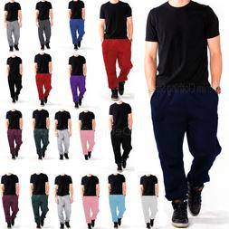 MEN WOMEN UNISEX SWEATPANTS FLEECE  WORKOUT GYM SPORT PANTS