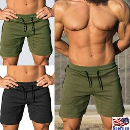 Men GYM Fitness Shorts Running Sport Workout Casual Jogging