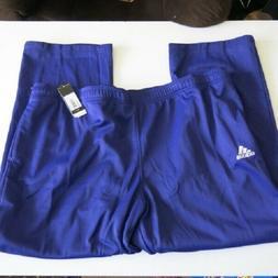 Adidas Men's 4XLT Purple Tech Fleece Pants Sweatpants Athlet