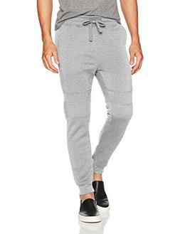 Southpole Men's Active Basic Jogger Fleece Pants, Heather Gr