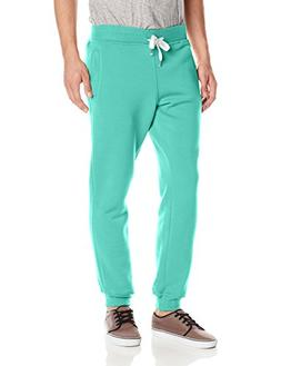 Southpole Men's Active Basic Jogger Fleece Pants, Mint, Smal