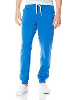 Southpole Men's Active Basic Jogger Fleece Pants, Royal, X-L