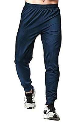 Rdruko Men's Active Gym Joggers Pants Workout Fitness Sweatp