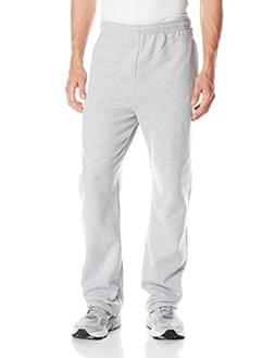 Jerzees Men's Adult Open Bottom Sweatpants, Heather, XX-Larg