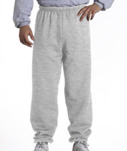 Jerzees Men's and Women's NuBlend Cotton/ Poly Sweatpants 97