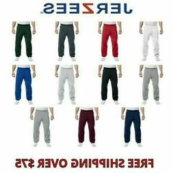 Jerzees 973 Adult 8 oz. NuBlend® Fleece Sweatpants
