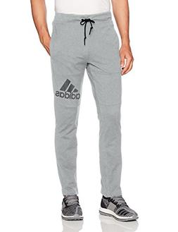 adidas Men's Athletics Sport Id Jersey Pants, Medium Grey He
