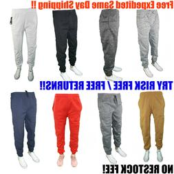Men's Baggy Casual Cotton Fleece Baggy Jogger Sweat Pants Ve
