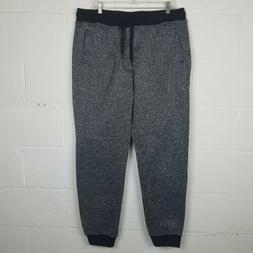 Southpole Men's Basic Fleece Marled Jogger Pant Big & Tall S
