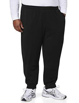 Amazon Essentials Men's Big and Tall Closed Bottom Fleece Pa