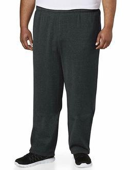 Amazon Essentials Men's Big & Tall Fleece Sweatpant, Gray, 3
