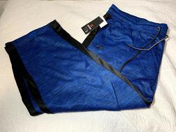 Akademiks Men's Blue Sweatpants w/ contrast panels  Big and