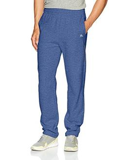 Russell Athletic Men's Cotton Rich Fleece Open Bottom Sweatp
