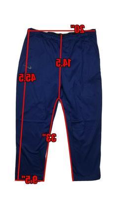 Nike Men's Dri-Fit Therma Training Jogger Sweat Pants Blue 9
