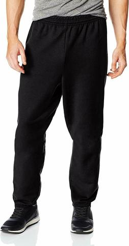 Hanes Men's EcoSmart Fleece Sweatpant, Black, 3X-Large, Pack