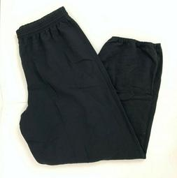 Hanes Men's EcoSmart Fleece Sweatpant, Black, X-Large