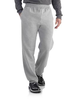 Fruit of the Loom Men's Elastic Bottom Sweatpants Size Large