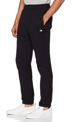Starter Men's Elastic-Bottom Sweatpants with Pockets, Exclus