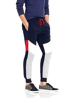 Southpole Men's Elastic Fleece Joggers Pants W/ Pockets - Ch