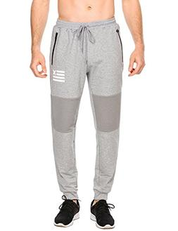 men s fashion jogger pants running trousers