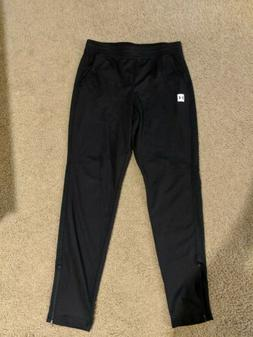 Under Armour Men's Fitted Black Sweatpants Size L