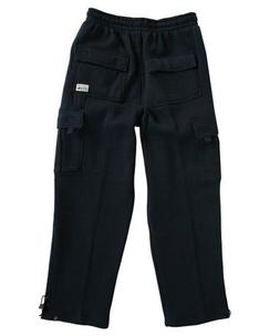 Pro Club Men's Fleece Cargo Pants Sweatpants - Navy Pro Club