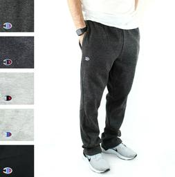 Champion Men's Fleece Jogger Sweatpants Powerblend Open Bott