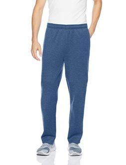 Amazon Essentials Men's Fleece Sweatpants, Blue Heather, X-S